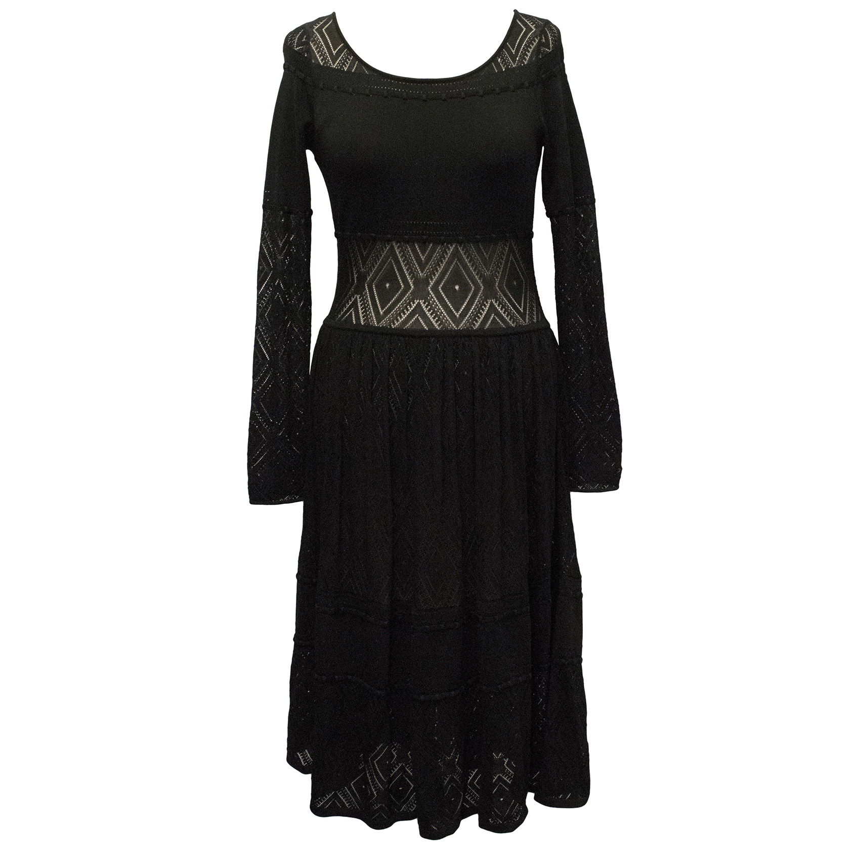 Temperley Black Knit Dress