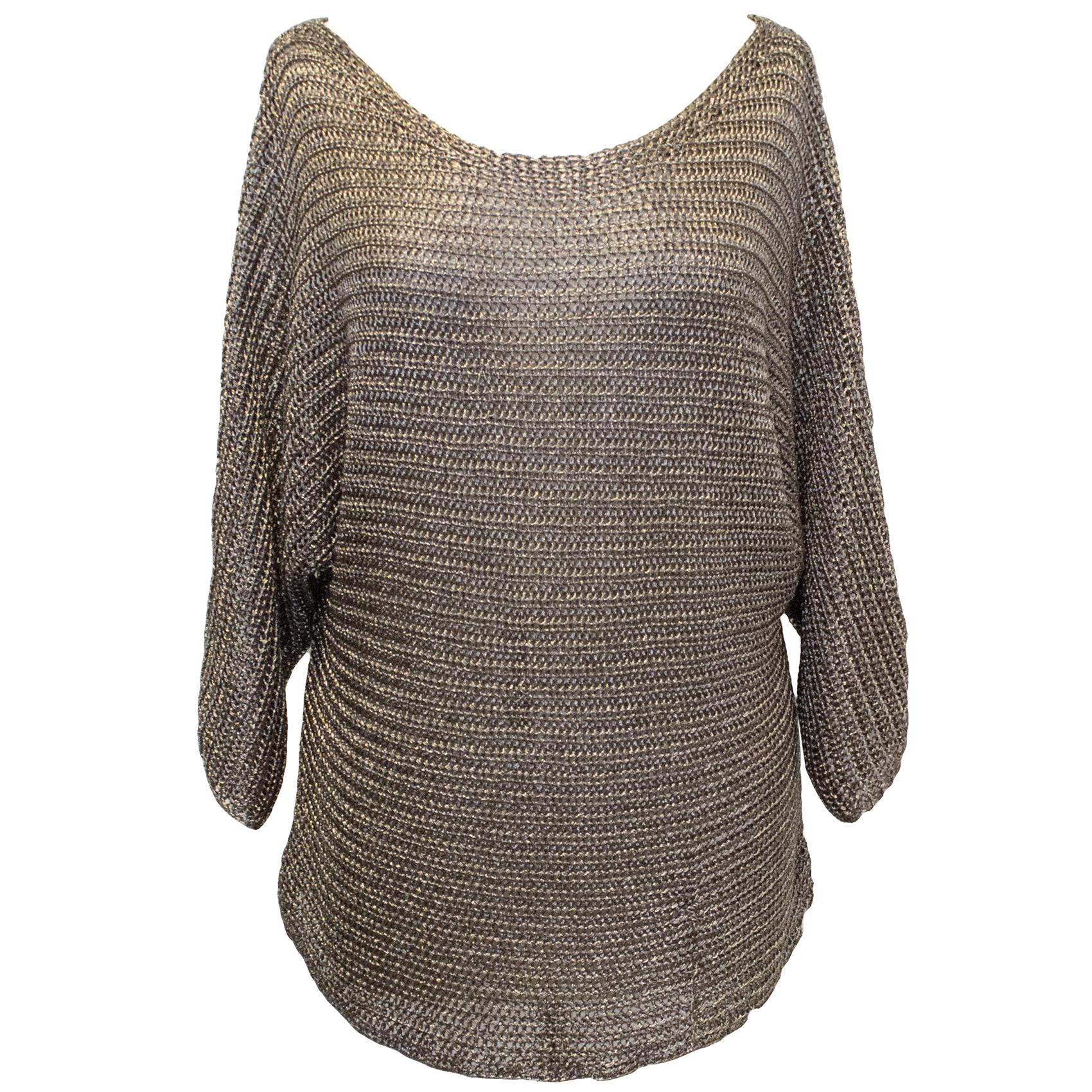Vince Gun Metal  Sweater