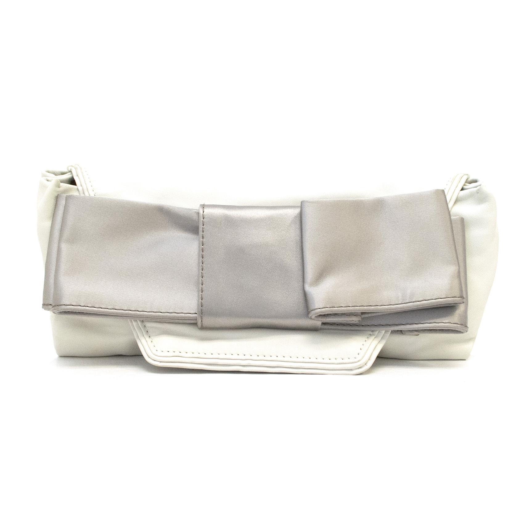 Chloe Bow Leather Clutch