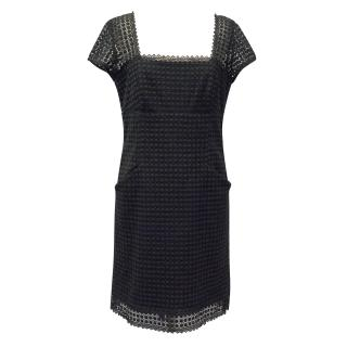 Milly New York Black Cotton Dress