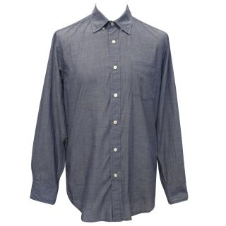 J Crew Blue Chambray Shirt