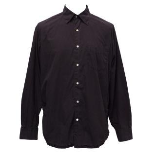 J Crew Plum Cotton Shirt