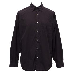 J Crew Plum Cotton Shirt