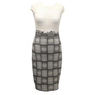Oscar de la Renta Knit Dress