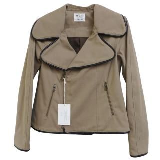 MIH Canvas A-Line Biker Jacket