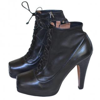 Alaia Black Ankle Boots