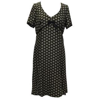 Joseph Black Polka Dot Dress