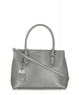 Lauren Ralph Lauren Newbury Grey Silver Bag Brand New