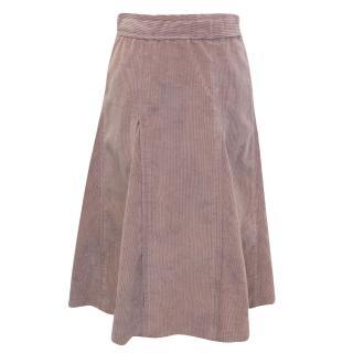 Louis Vuitton Velvet Skirt
