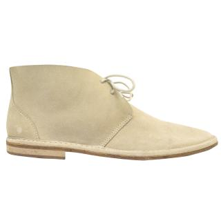 J. Lindeberg 'Chukka' Sand Suede Boots