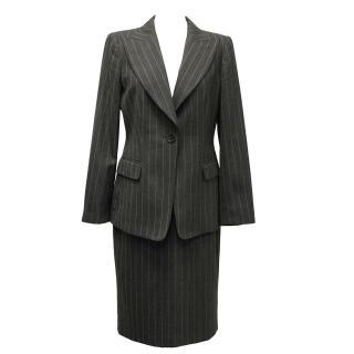 Armani Collezioni Pin Striped Suit