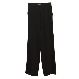 Ann Demeulemeester Wool Blend Tailored Trousers