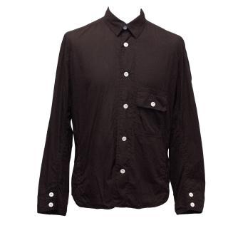 J. Lindeberg Burgundy Cotton Shirt