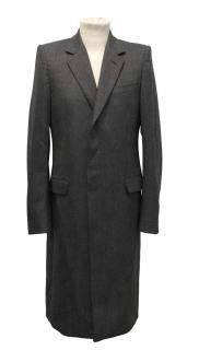 Alexander McQueen Wool Grey Coat