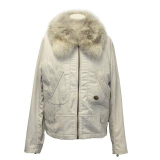 Louis Vuitton Jacket with Detachable Coyote Fur