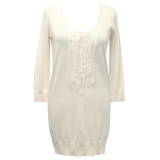 Joseph Cream Knit Top