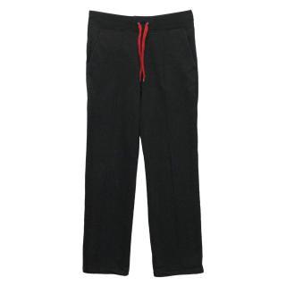 J. Lindeberg Charcoal Cotton Blend Jogger Sweat Pants