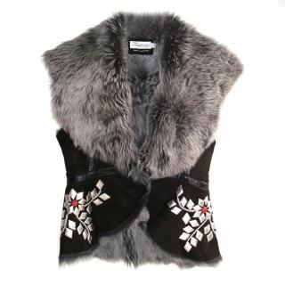 Temperley Fur Vest