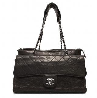 Chanel Dark Brown Gladstone Bag