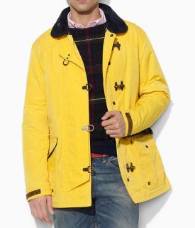 Polo Ralph Lauren yellow fireman's slicker jacket