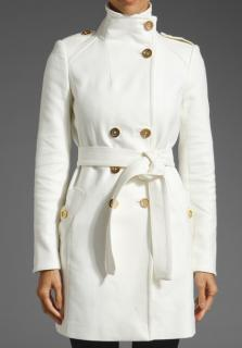 Juicy Couture Tricotine Trench coat