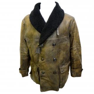 Polo Ralph Lauren Leather Coat