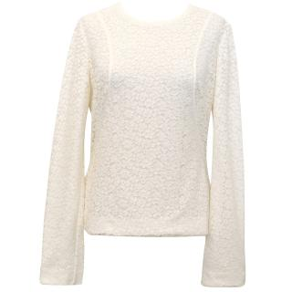 Chloe Ivory Lace Top