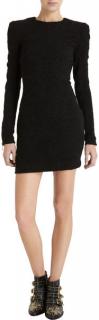 Balmain Black Mini Dress