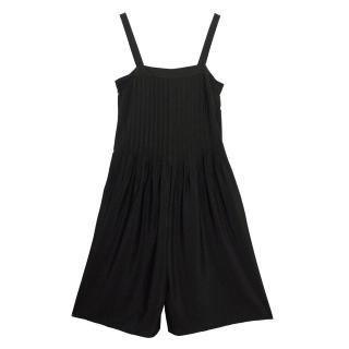 Tibi Wide-Leg Black Jumpsuit