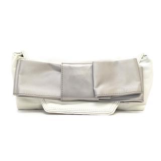 Chloe Bow Leather Clutch