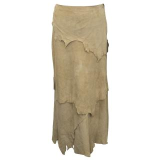 Dolce & Gabbana Leather Skirt
