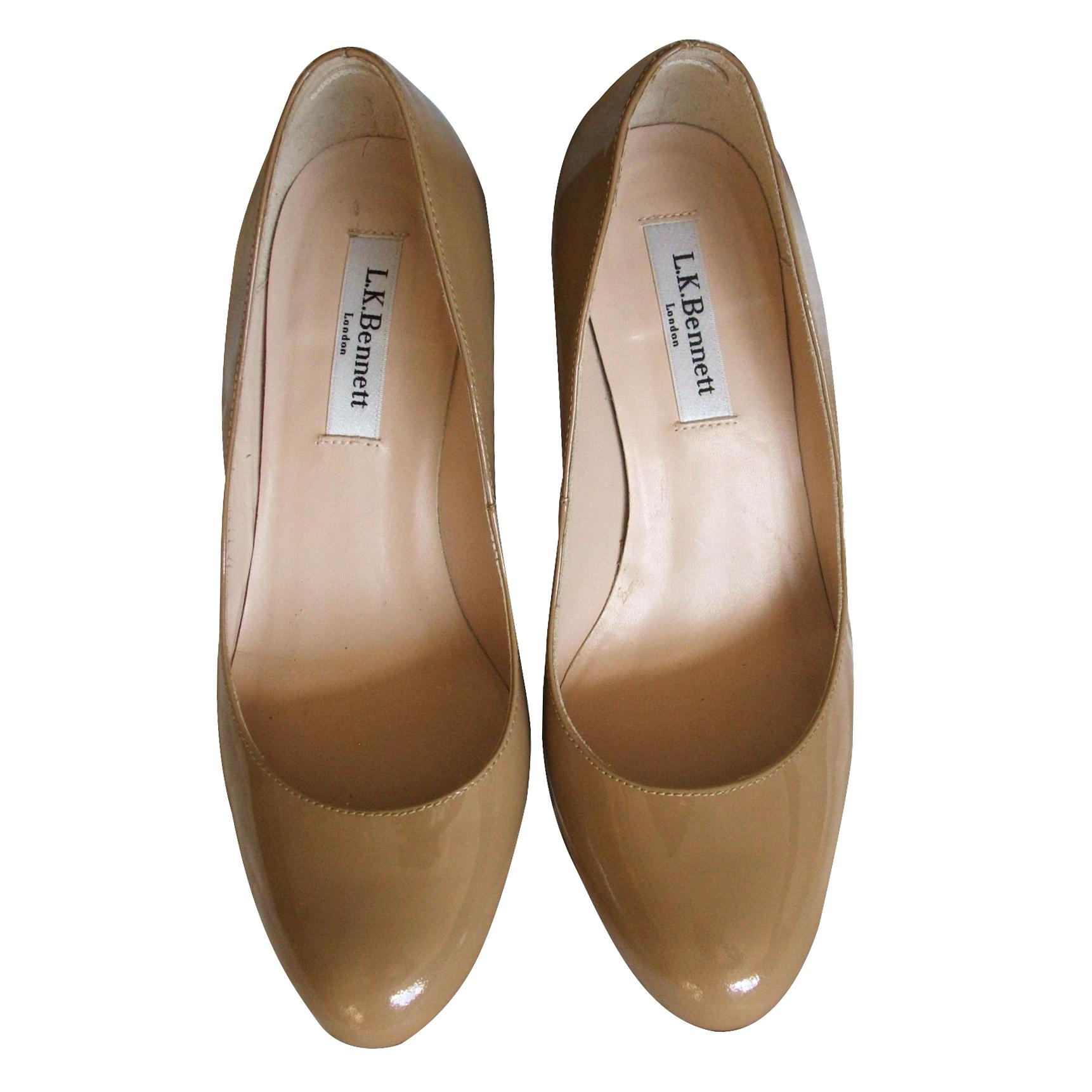 6594ad6504 Lk Bennett Sybila Patent Leather Courts Size 36052433   HEWI London