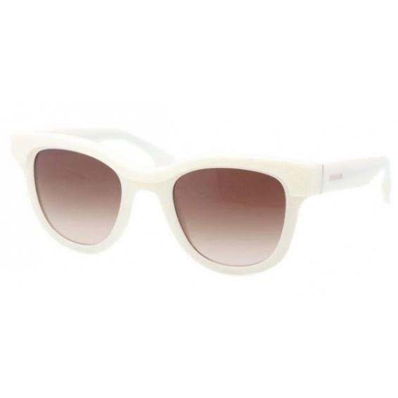 6dc56a3a51b9 Prada 27p White Sunglasses