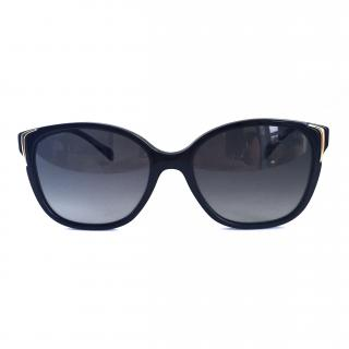 Prada sunglasses with gold detailing