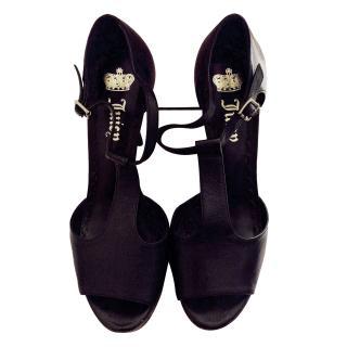 Juicy Couture T Bar Heels NEW