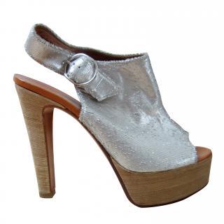 Michel Perry Clog Evening Sandals