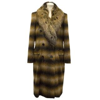 Michael Kors Coat with Fox Fur Collar