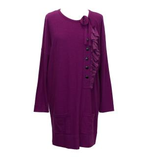 Sonie Rykiel Purple Dress