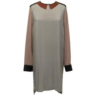 Stella McCartney Silk Patterned Duke Dress