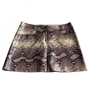 Just Cavalli Snakeskin Skirt