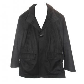 Hugo Boss wool/cashmere 3/4 coat