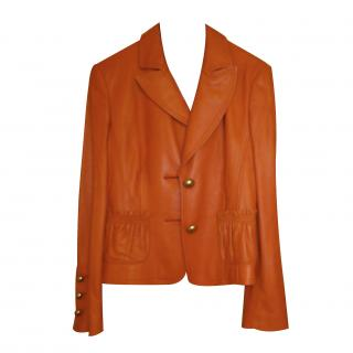 Louis Feraud leather jacket