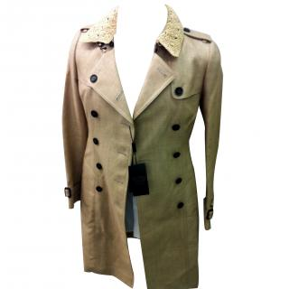 Burberry Prorsum double breasted trench coat