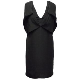 Stella McCartney black shift dress