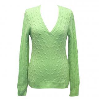 Ralph Lauren Green Sweater