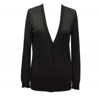 Gucci Black Knit Cardigan