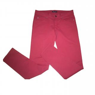 Aquascutum London Burgundy Trousers