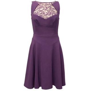 Elie Saab Purple Dress