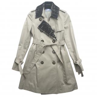 Valentino Trench Coat with Lace