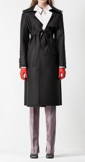 PRINGLE OF SCOTLAND Brand New Leather Coat